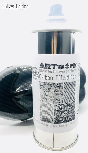 ARTwork Carbon Effektlack Silver Edition 400ml Spraydose