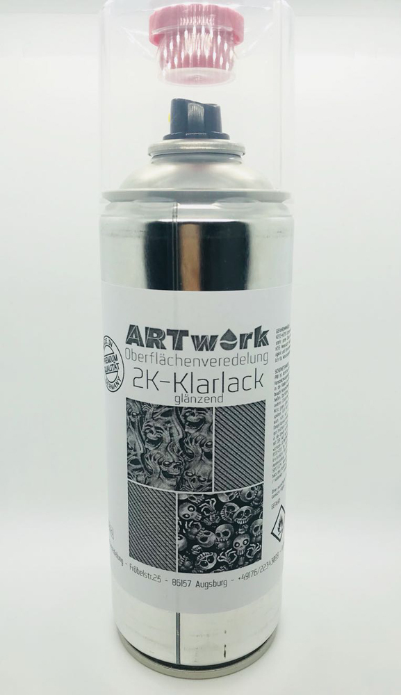 2k klarlack gl nzend 400ml spraydose artwork. Black Bedroom Furniture Sets. Home Design Ideas