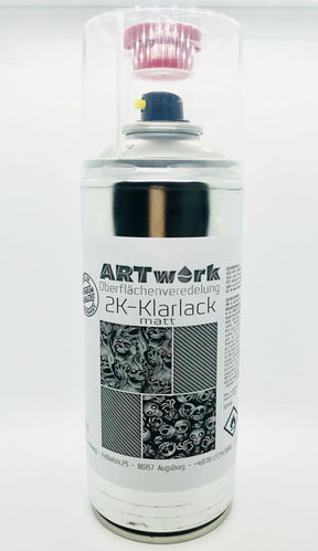 2k Klarlack Matt 400ml Spraydose ARTwork
