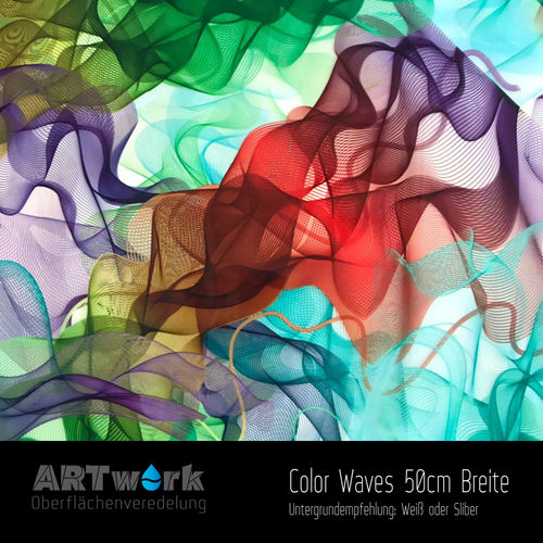 WTD Folie Color Waves 50cm Breite