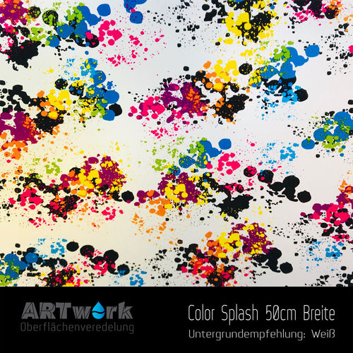 WTD Folie Color Splash 50cm Breite